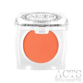 【ACTS維詩彩妝】霧面純色眼影 橘色A201