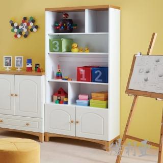 【優利亞-英式風格】2.7尺書櫃