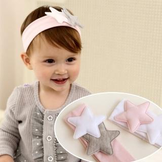 【UNICO】韓版 兒童純綿星星造型髮帶/髮飾