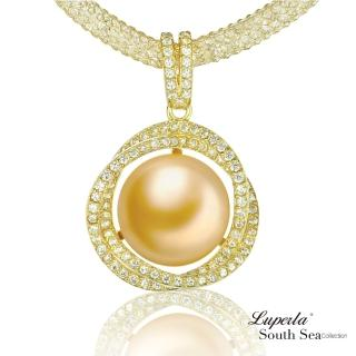 【大東山珠寶】極致閃耀 頂級南洋珍珠項鍊(南洋珍珠 金)