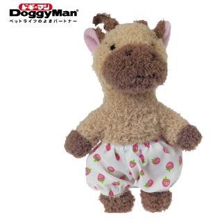【Doggy Man】犬用友達毛絨啾啾玩具-長頸鹿之助(寵物用品)