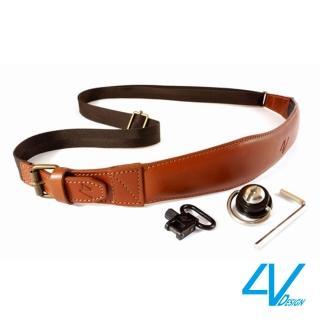 【4V Design】PIUMA SL系列快取型背帶VB3PMSL23-棕/棕色
