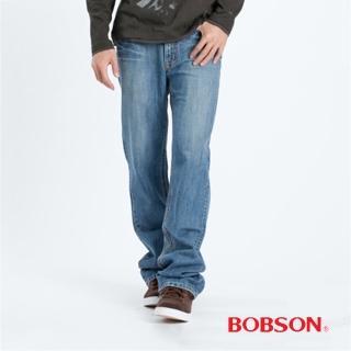 【BOBSON】男款中直筒牛仔褲(1706-58)