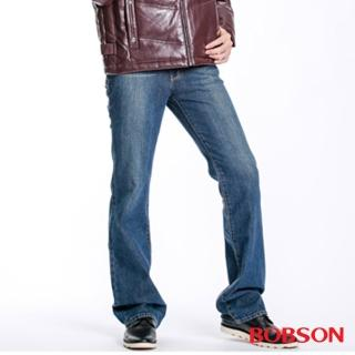 【BOBSON】男款低腰喇叭褲(1723-53)