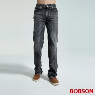【BOBSON】男款中直筒褲(1732-87)