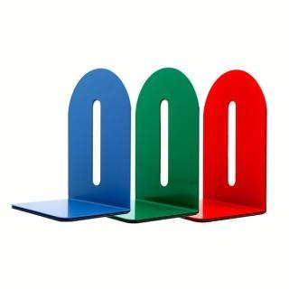 【KW-triO】8吋鐵製L型書架 02210(200mm/金屬材質堅固耐用/雜誌書籍資料收納/防滑底部)