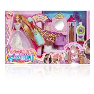 【MIMIWORLD】MIMI娃娃 長髮公主美髮遊戲組
