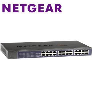 【Netgear】JGS524E 24埠 Giga機架式簡易網管交換器