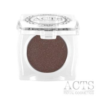 【ACTS 維詩彩妝】細緻珠光眼影 珠光黑咖啡B607