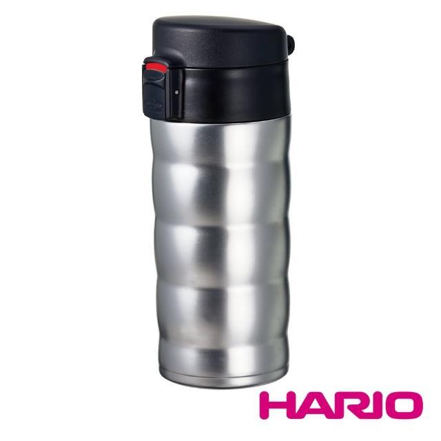 【HARIO】銀色真空隨行杯 350ml(VSW-35HSV)