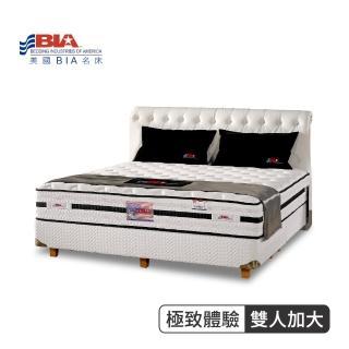 【美國名床BIA】極致體驗 獨立筒床墊-6尺加大雙人(喀什米爾羊毛布)