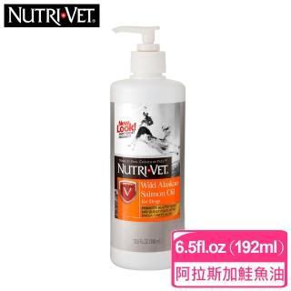 寵達特 犬用野生阿拉斯加鮭魚油6.5fl.oz(192ml)(F001A06)