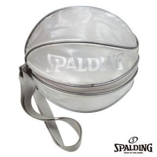 【SPALDING】單顆裝籃球瓢蟲袋(銀)