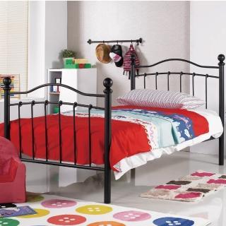 【AS】太娜3.5尺黑色鐵床檯-115x200x112cm