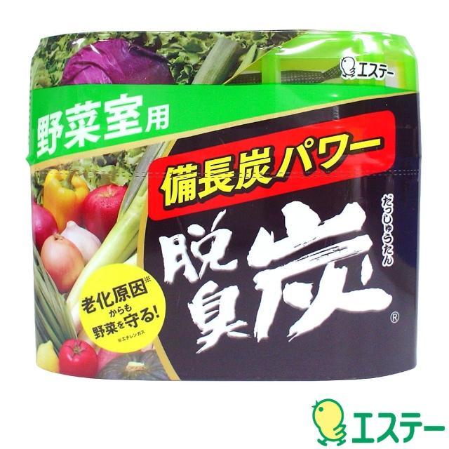 【ST雞仔牌】脫臭炭消臭劑(蔬菜室用-140g+2g)/