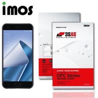 【iMos】ASUS Zenfone 4 Pro(3SAS 疏油疏水 螢幕保護貼)