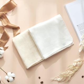 【MARURU】日本製無漂白無染色紗布洗澡巾2入(新生兒baby寶寶無漂白無染色紗布洗澡巾/日本製)