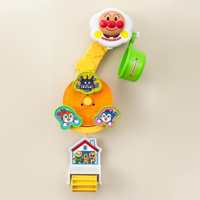 【ANPANMAN 麵包超人】吸盤式水車玩具