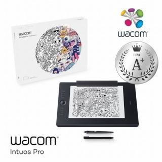 【Wacom】福利品★Intuos Pro Large 雙功能創意觸控繪圖板 經典黑(PTH-860/K1)
