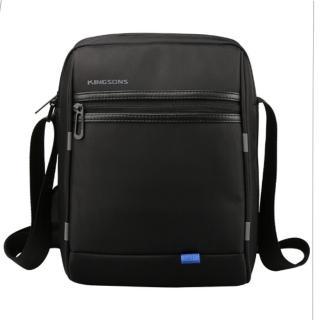 【leaper】KINGSONS USB充電防潑水休閒單肩斜背包(側背包)