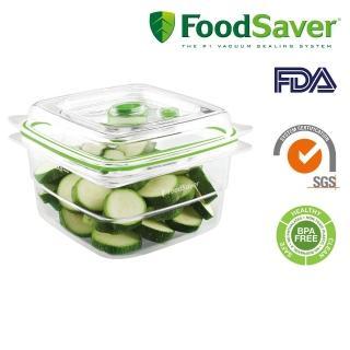 【FoodSaver】真空密鮮盒2入組(中-1.2L)