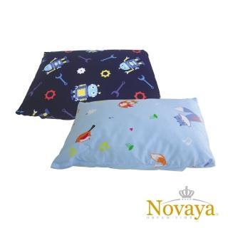 【Novaya 諾曼亞】《微笑寶貝》調整型兒童乳膠枕(6款)