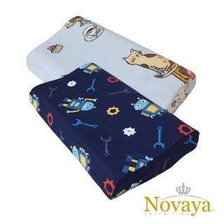 【Novaya 諾曼亞】《微笑寶貝》人體工學兒童乳膠枕(9款)