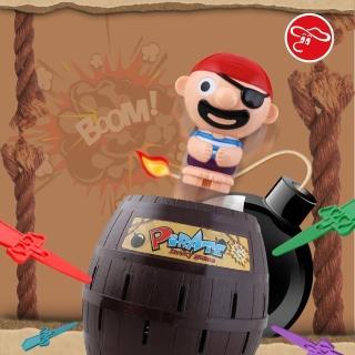【瑪琍歐玩具】瘋狂大海盜桶