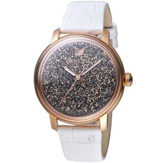 【SWAROVSKI 施華洛世奇】璀璨光彩時尚腕錶(5344635)