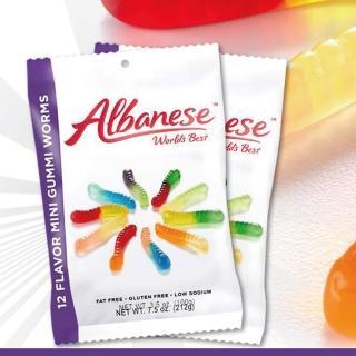 【即期品】美國艾爾巴 12種迷你小蟲造型軟糖100g(賞味期限:2021/02/24)