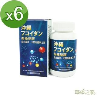 【草本之家】日本褐藻醣膠100粒X6入(褐藻糖膠)