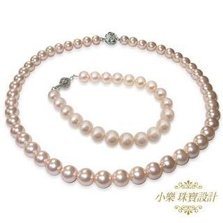 【小樂珠寶】3A南洋深海貝珍珠套組(亮雅低調奢華)