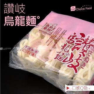 【巧益市】南僑冷凍讚岐烏龍麵6包(240g/片/5片/包)