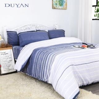 【DUYAN 竹漾】天絲雙人加大床包被套四件組- 現代時尚
