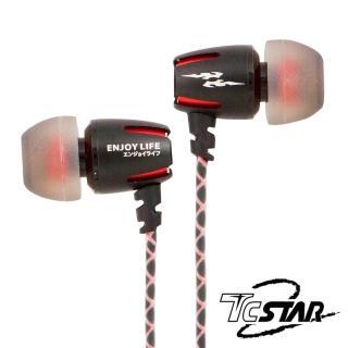【T.C.STAR】入耳式耳機麥克風(TCE6000RD)
