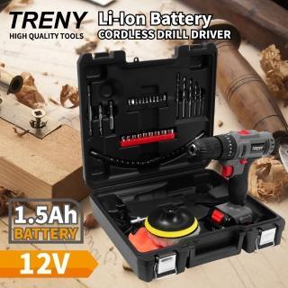 【TRENY】12V 鋰電雙速震動起子機