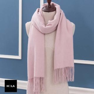 【HOLA】HOLA 100%Cashmere圍巾 粉色