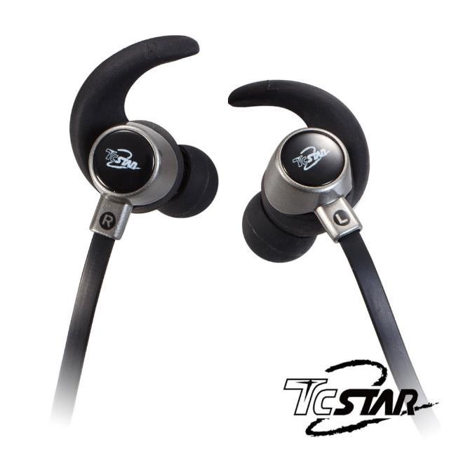 【T.C.STAR】無線藍牙運動耳麥/黑(TCE8100BK)