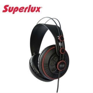 【Superlux】HD681 半開放耳罩式動圈式耳機(傳送優質的頻率回應及水晶般透明的細節)