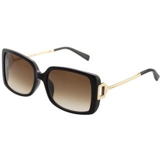 【TOD'S】時尚方框 太陽眼鏡(黑色)