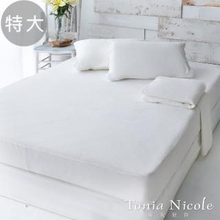 【Tonia Nicole 東妮寢飾】防水透氣包式保潔墊(特大)