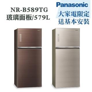 【Panasonic 國際牌】579公升一級能效雙門變頻冰箱(NR-B589TG)