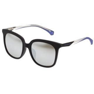【Calvin Klein (CK)】水銀面中性款 太陽眼鏡CKJ826SAF(黑色)