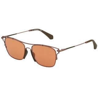 【Calvin Klein (CK)】水銀面太陽眼鏡CKJ166S-705(玫瑰金)