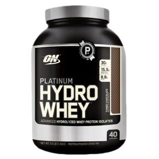 【美國 ON】白金級 HYDRO WHEY 水解分離 乳清蛋白(巧克力/3.5磅/罐)