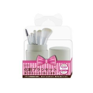 【Lumina露蜜】A55筒裝化妝刷七件組(時尚 刷具 收納)