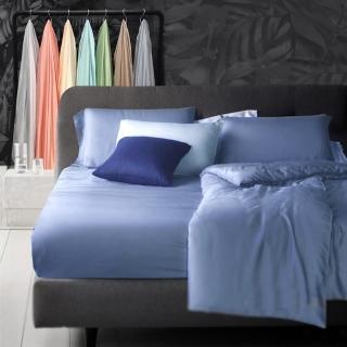 【A-nice】100%天絲零碼素色單床包(特大/多色任選/60支)