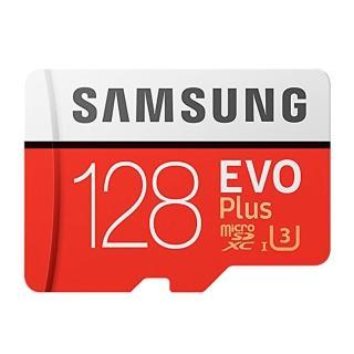 【SAMSUNG 三星】128GB EVO Plus U3 R100/W90mb microSDXC記憶卡(附轉卡 平輸)