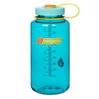 【NALGENE】寬嘴水壼1000cc(蔚藍色)