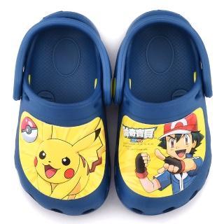 【童鞋城堡】不對稱款花園鞋 神奇寶貝-寶可夢(PA1722-藍)